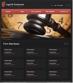 Legal & Corporate Law Firm Redesign Launch! A Professional Website With A Modern Design!