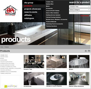 Website Redesign Reflects Eka Group's View Of Aesthetics With Elegance And Uniqueness!