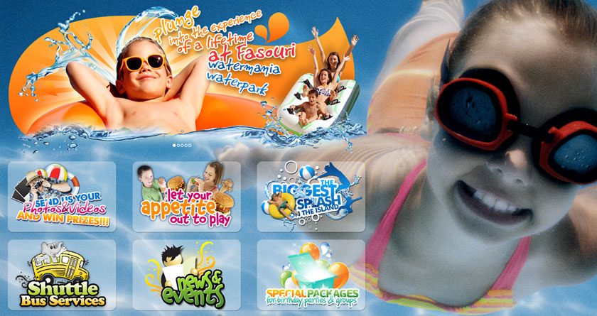 Fasouri Watermania Waterpark Gets The Most Exciting Website Redesign!